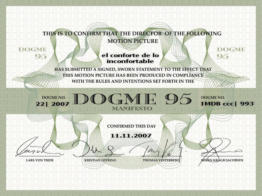 Certyfikat Dogma 95