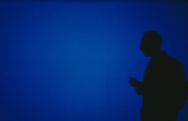 Cinerama - blue - Derek Jarman